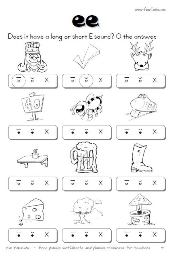 Vowel diphthong worksheets and digraph worksheets printable – Long E Worksheet