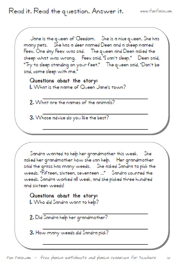 Worksheets Short Story Worksheet vowel diphthong worksheets and digraph printable 2 stories with comprehension questions