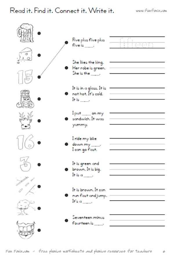 Long Vowel Sounds E Worksheet 1