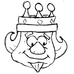 Free clipart images fo... King Clip Art Black And White